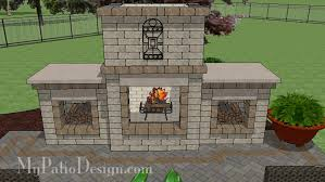 Outdoor Fireplace Designs - fire pit and outdoor fireplace designs u2013 mypatiodesign com