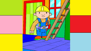 bob builder climbing ladder bob coloring pages coloring