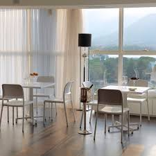 contemporary restaurant chair stackable 100 recyclable