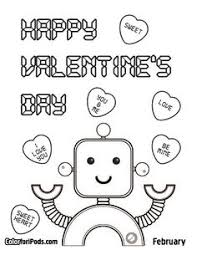 free valentines coloring pages printables holidays