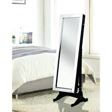 Large White Jewelry Armoire Mirrors White Cheval Mirror Floor Standing Jewelry Armoire