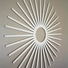 furniture charming white starburst wall decor for wall