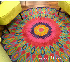 Cool Round Rugs by Area Rug Cool Round Area Rugs Dhurrie Rugs In Bright Rugs