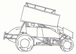 coloring download sprint car coloring pages sprint car coloring
