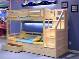 Solid Pine Bunk Beds Luxury Solid Pine Bunk Bed With Storage Drawers Pine Or White
