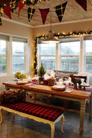 kitchen beautiful inspiring christmas interior decoration ideas