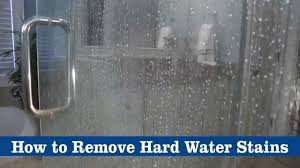 How To Get Shower Doors Clean How To Clean Glass Shower Doors With Water Stains Garage