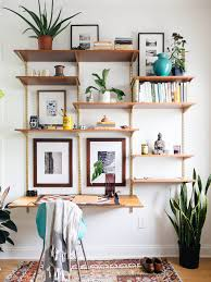 decorate office shelves diverse diy suspended shelves that add flavor to your décor