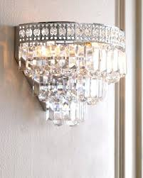 Horchow Bathroom Vanities Sconce Possini Euro Silver Line 12h Chrome And Crystal Sconce