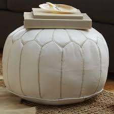 Fuzzy White Ottoman Fuzzy White Ottoman Wayfair