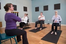 Armchair Yoga For Seniors Yoga U2014 The Hub By Promotion Fitness