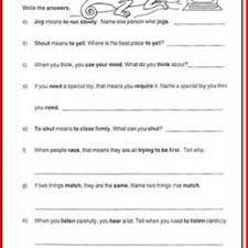1st grade language worksheets kristal project edu hash