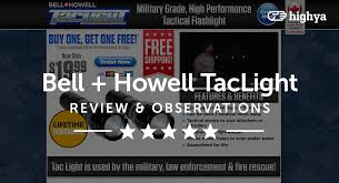 tac light flash light taclight by bell howell reviews is it a scam or legit