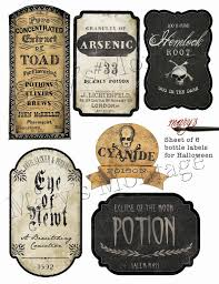 best 25 bottle labels ideas on pinterest printable halloween