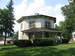 octagon home plans the octagon in seneca county ohio places across the u s