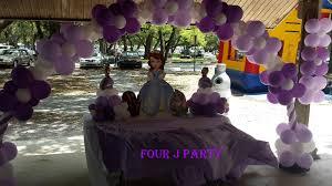 Sofia Decorations Party Rental Sofia The First Decoration
