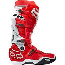 motocross boots ebay fox instinct boots red white u2013 indian racing bazaar