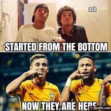 Neymar Memes - neymar and coutinho soccer memes goal91