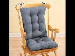 rocking chair cushion rocking chair pads youtube