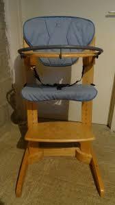 chaise haute b b occasion gracieux chaise haute woodline en bois volutive bb confort occasion