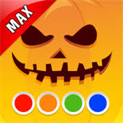 buy coloring book halloween max funny painting book boys
