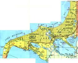 Michigan Maps by Map Of Crystal Lake Michigan Michigan Map