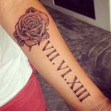 new 33 latest trending roman numeral tattoo designs to get this
