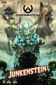 blizzard overwatch comic junkenstein
