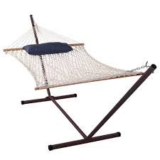 Hammock And Stand Set Amazon Com Sundale Outdoor Cotton Hammock With 12 Feet