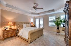 Master Bedroom Ceiling Fans by Master Bedroom With Limestone Tile Floors U0026 Ceiling Fan In Jensen