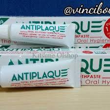 Pasta Gigi Antiplaque jual pasta gigi antiplaque 75 gram banded 25 gram di lapak