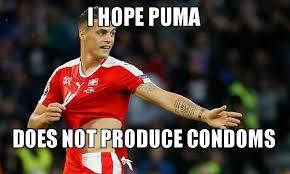 Puma Meme - i hope puma does not produce condoms make a meme