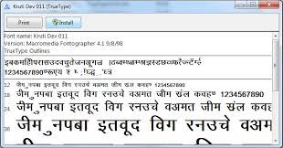 font installation instruction hindi fonts installation guide