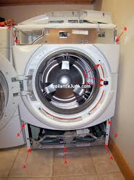 how to replace a whirlpool duet washer bellow tub door seal