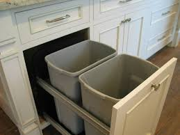 Kitchen Appliance Lift - cabinet trash drawer rev a shelf cabinet trash cans kitchen