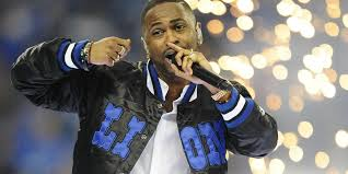 thanksgiving halftime show big sean u0027blessed u0027 during lions halftime performance
