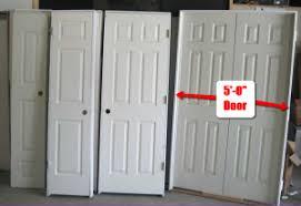 Closet Door Opening Size To Frame For Basement Doors And Other Basement Door Ideas