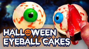 bloody halloween eyeball cake recipe an easy and devilish