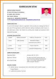 Resume For Icici Bank Po Biodata Resume Format For 100 Images Resume Cv Cover Letter 1
