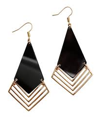 hm earrings geometric earrings h m accessories it s all in the details