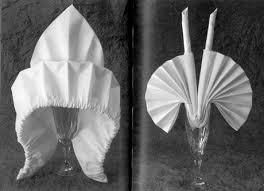 Decorative Napkin Folding The History And Techniques Of Napkin Folding