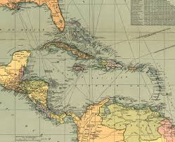 1600 Map Of America by Maps Of Central America