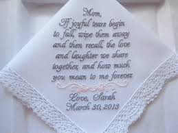 ceramic fallos ring holder images Mother of the bride wedding handkerchief wedding hankies jpg
