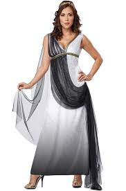 Halloween Costumes Greek Goddess Deluxe Roman Empress Costume Greek Goddess Costume Roman