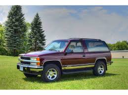 classic chevrolet blazer for sale on classiccars com 56