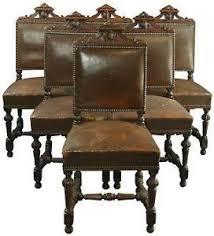 oak dining chairs ebay