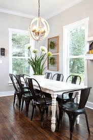 white farmhouse table black chairs white farmhouse table and chairs tubep me