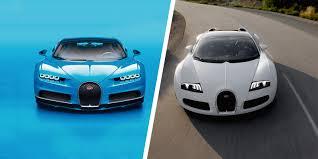 bugatti chiron 2018 bugatti chiron vs veyron speed stats comparison carwow