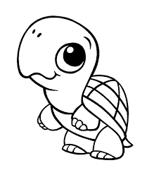 turtle coloring pages cute toddlers coloringstar