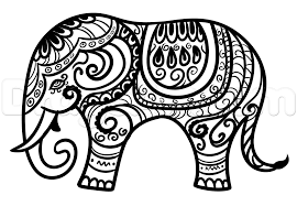 hindu elephant drawing lesson step by step art pop culture